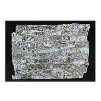 Декор ракушка прессованный (лист)