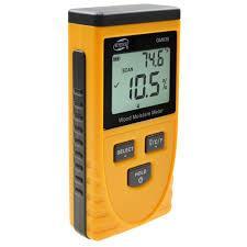 Вологомір безконтактний для деревини і (8 режимів порід) (0,5~79,5%) GM630 BENETECH