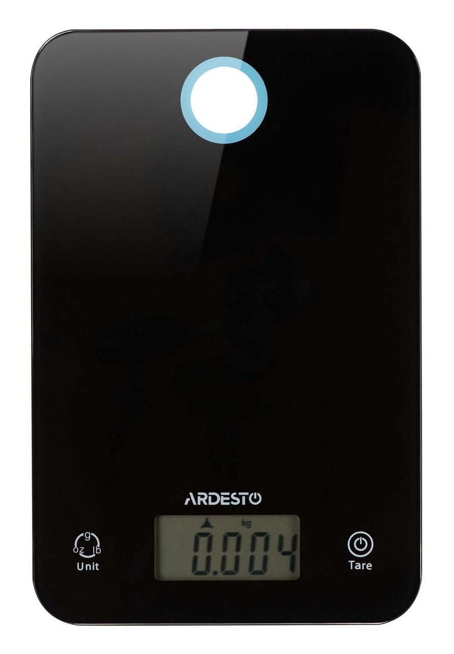 Весы кухонные Ardesto SCK-839B Электронная 5 кг Черный