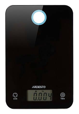Весы кухонные Ardesto SCK-839B Электронная 5 кг Черный, фото 2