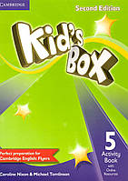 Kid's Box 5 Activity Book (2nd edition) (металлическая пружина)