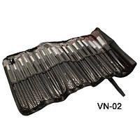 Набор визажный кистей 18 на завязках VN-02