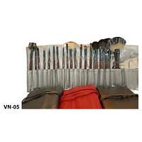 Набор визажный кистей 18 на завязках VN-05