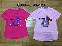 Футболка девочек оптом, Grace, 98-128 см,  № G86844, фото 1