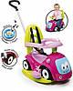 Машина для катання дитяча Smoby Toys Маестро 4 в 1 з функцією гойдалки Рожева (720303)