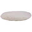 Подушка, Ø35 см, кругла (плюш), (Stars молочно-білий), фото 2