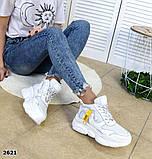 Черные, бежевые, белые! Стильные высокие кроссовки женские, фото 5