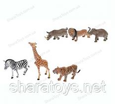 Набор диких животных 3 штуки