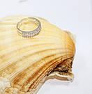 Фаланговое колечко из чистого серебра Классик, фото 2