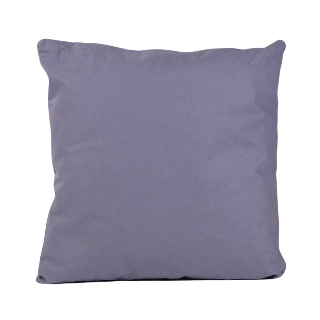 Подушка, 30*30 см, (бавовна), (сірий)