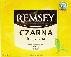 Remsey Czarna Klasyczna чай черный в пакетиках 150 г