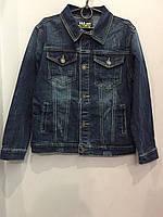 Джинсовая куртка для мальчика 6/116-16/176 см