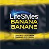 Презервативы LifeStyles Banana (ароматизированные)