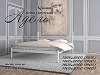 Кровать металлическая Адель  Loft Металл-Дизайн