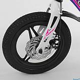 Велосипед детский Corso Magnesium MG-77218 ,магниевая рама,дисковые тормоза,литые диски, колеса 14 дюймов, фото 3
