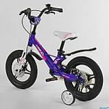Велосипед детский Corso Magnesium MG-77218 ,магниевая рама,дисковые тормоза,литые диски, колеса 14 дюймов, фото 4