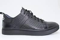 Легендарные туфли-лодочки Clubshoes модель 87 перфорация черная, обновленные в современном стиле.