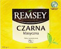 Remsey czarna klasyczna tea 75 пакетов