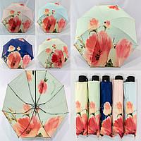 """Маленький зонтик с двойной тканью и обратным сложение от фирмы """"Ansu""""."""