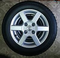 165/70/R14 Aluett Комплект литые диски + шины 4шт. Зима