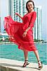 Свободное шифоновое платье Ренесанс, фото 3