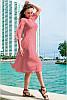 Свободное шифоновое платье Ренесанс, фото 4