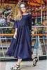 Свободное шифоновое платье Ренесанс, фото 5