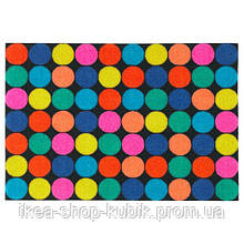 ІКЕА РОРСЛЕВ, 003.942.43 Придверный коврик, разноцветный, 40x60 см