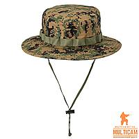 Панама військова Helikon-Tex® USMC Boonie Hat - PolyCotton Twill - USMC Digital Woodland, фото 1