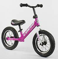 *Велобег (беговел) CORSO колеса надувные 12 дюймов арт. 54307