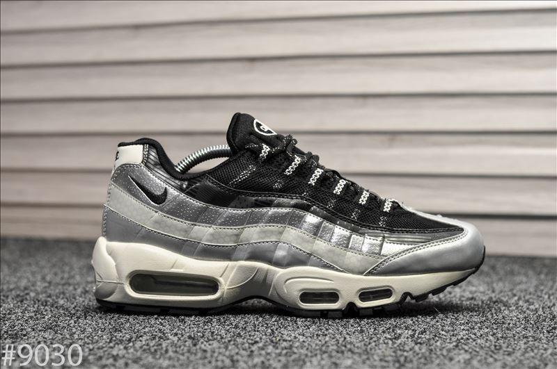 Мужские кроссовки Nike Air Max 95 Silver Black