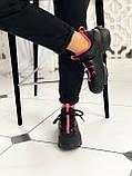 Стильные женские кроссовки Dior black pink, фото 7