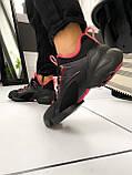 Стильные женские кроссовки Dior black pink, фото 5