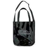 Пляжная сумка 2021, женская черная пляжная сумка СС-3617-10