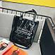 Пляжна сумка 2021, жіноча чорна пляжна сумка СС-3617-10, фото 3