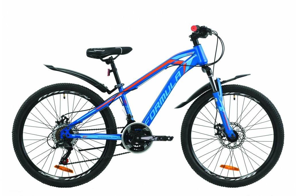 """Велосипед подростковый универсальный ST 24"""" Formula Dakar AM DD 2020 стальная рама 13"""""""