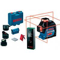 Линейный лазерный нивелир Bosch GLL 3-80 + кейс + чехол + Zamo III (0601063S0Z)
