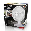 Вентилятор настольный Adler AD 7301 диам 15 см, фото 4