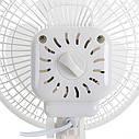 Вентилятор настольный Adler AD 7301 диам 15 см, фото 5