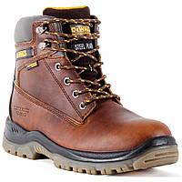 Рабочие водонепроницаемые ботинки со стальным носком DeWALT Titanium DXWP10011