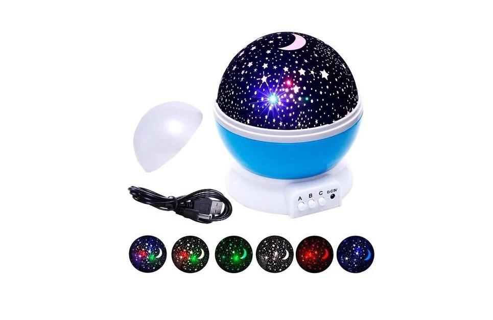 """Вращающийся ночник-проектор """"Star Master"""" (синий) (JDY705002938)"""