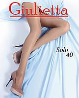 Классические женские колготки с шортиками SOLO 40, р 2,3,4