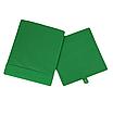 Скринька ( коробка ) для зберігання, 25*25*30 см, (спанбонд), з відворотом (зелений), фото 2