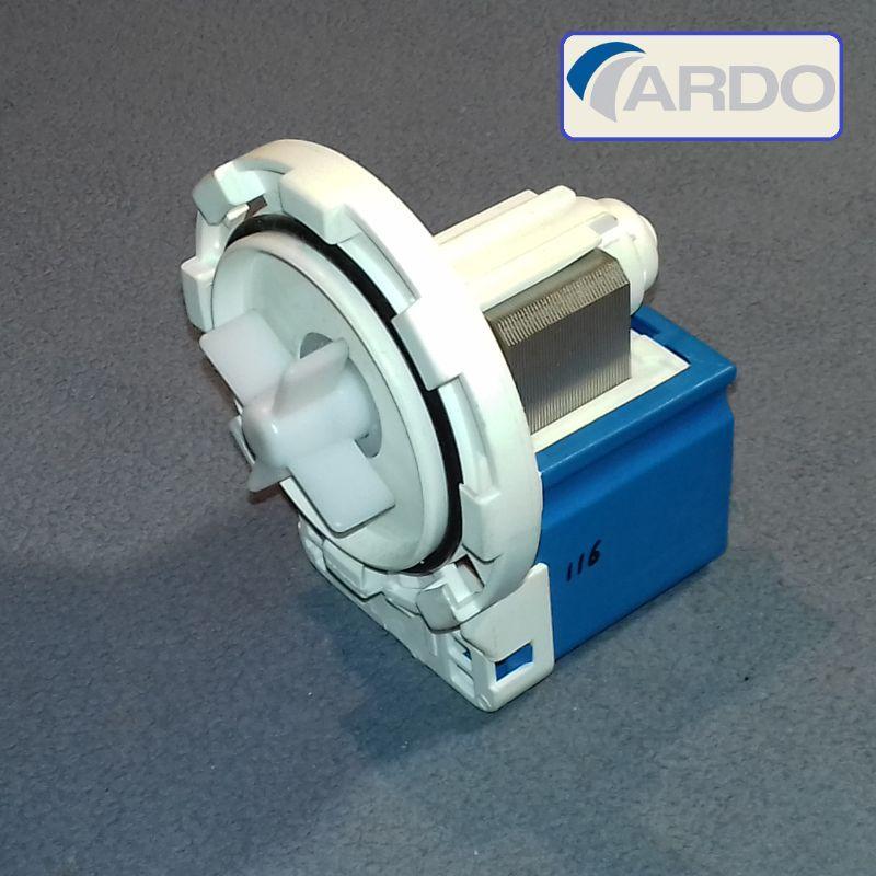 Сливной насос для стиральной машины Ardo (на 8-ми защёлках)