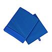Скринька для зберігання, 25*25*30 см, (спанбонд), з відворотом (синій), фото 2
