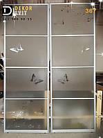 Межкомнатные раздвижные двери купе - пескоструй объемный с совпадением рисунка