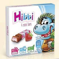 Шоколад молочный Hibbi клубничный детский 50 г Польша