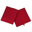 Скринька для зберігання, 25*25*30 см, (спанбонд), з відворотом (червоний), фото 2