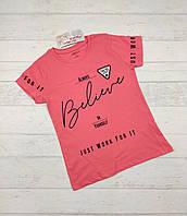 Детская футболка для девочек 4-10 лет