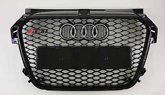 Решітка радіатора Audi A1 8X (10-14) стиль RS1